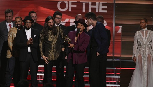 """Uptown Funk"" Wins Record Of The Year; Grammys Oddsmakers Go 3-For-4"