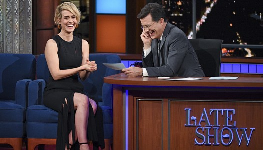 """Sarah Paulson Scheduled For January 16 """"Late Show With Stephen Colbert"""""""