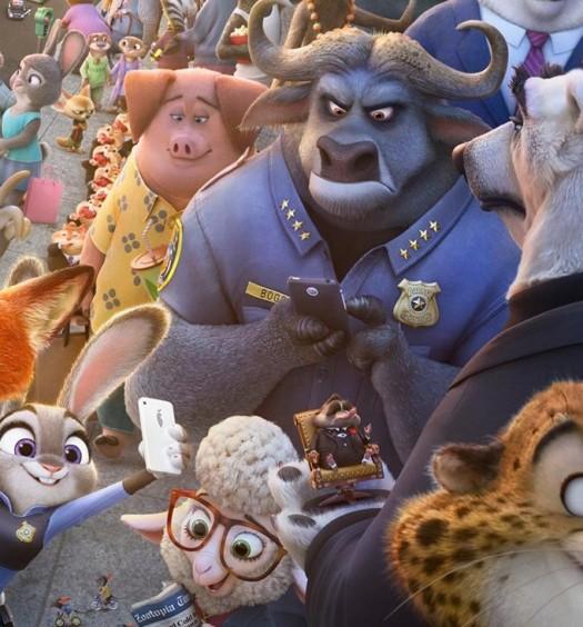 Zootopia [Official Disney Studios Poster]