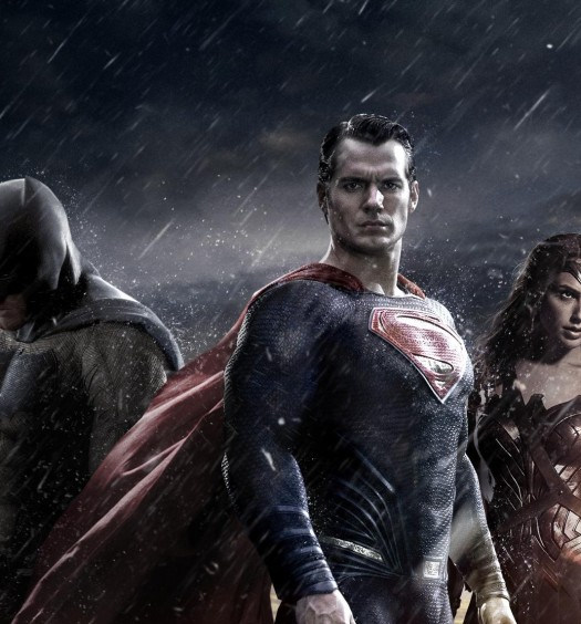 Batman v Superman [Official WB Pictures Poster]