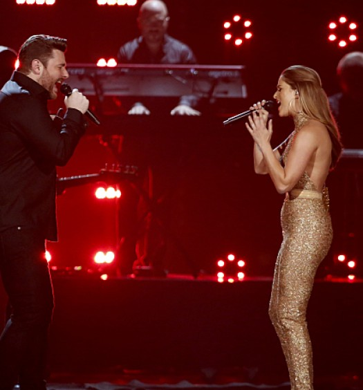 Chris Young Cassadee Pope [CBS]