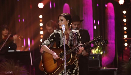 "Kacey Musgraves Performs ""High Time"" On James Corden's ""Late Late Show"" (Watch Now)"
