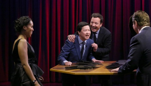 "Kerry Washington, Ken Jeong Play Famous Face-Off on ""The Tonight Show"" (Watch Now)"