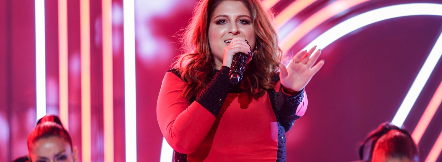 Meghan Trainor [iHeartRadio Awards | Photo via iHeart/Turner Press]