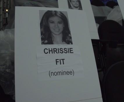 Movie Awards Seat Cards [MTV Press Footage]