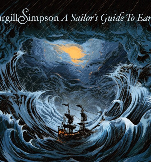 Sturgill Simpson [Album Cover via Sacks and Co]