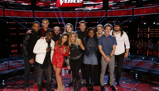 "Coaches Save Emily, Paxton, Bryan, Owen As ""The Voice"" Reveals Top 12"