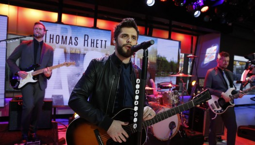 """Thomas Rhett's """"Die A Happy Man"""" Reaches 2X Platinum In The US"""