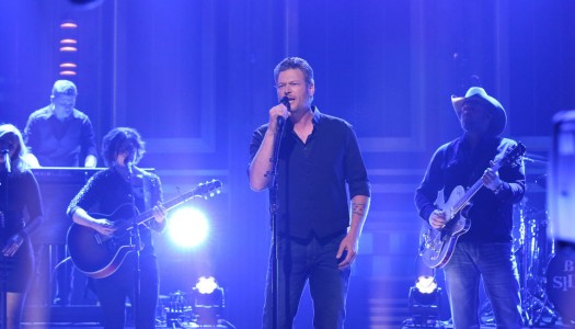 """Blake Shelton Performs """"Came Here To Forget"""" On Jimmy Fallon's """"Tonight Show"""" (Watch Now)"""