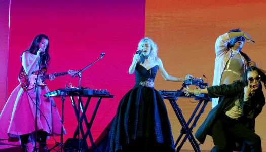 """First Look: Grimes Performs On """"The Tonight Show Starring Jimmy Fallon"""""""