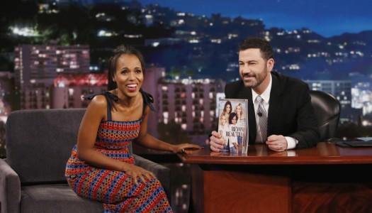 "Kerry Washington, Shonda, Gronk, Ariana Grande Set For May 12 ""Jimmy Kimmel Live"" Taping"