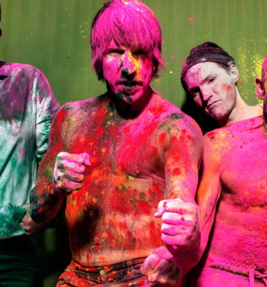 Red Hot Chili Peppers [Steve Keros | WBR Press Photo]