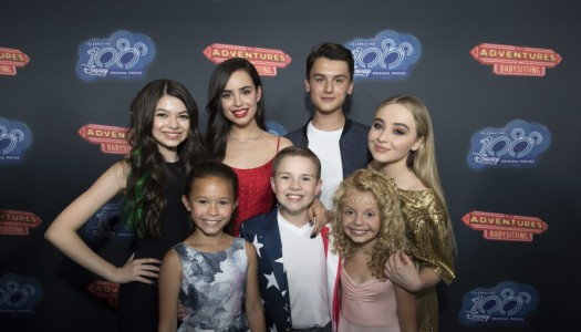 "Special Look: Sofia Carson, Sabrina Carpenter, Disney Stars Attend ""Adventures In Babysitting"" Premiere"