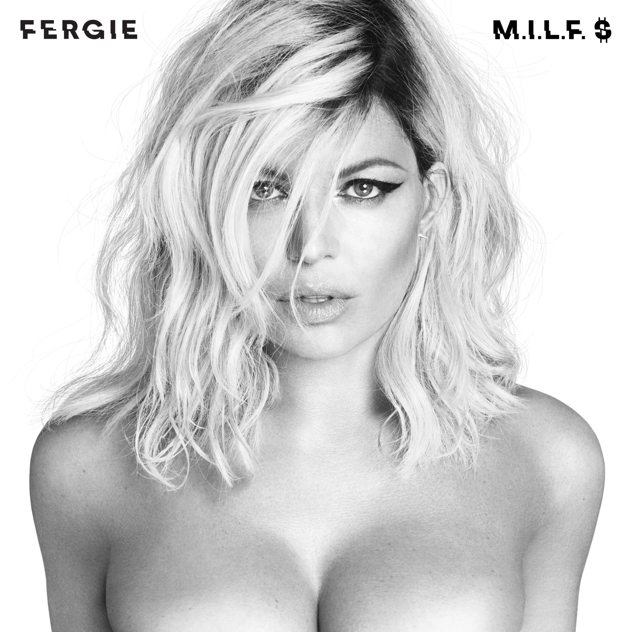 fergie reveals official cover photo for milf
