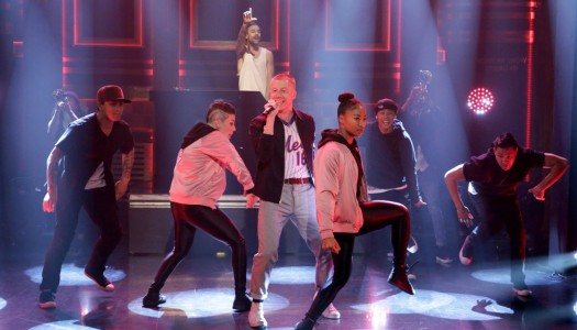 "Macklemore & Ryan Lewis Perform ""Dance Off"" On Jimmy Fallon's ""Tonight Show"" (Watch Now)"