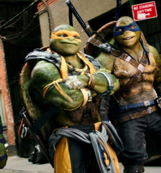 TMNT 2 [Official Photo | Paramount Pictures]