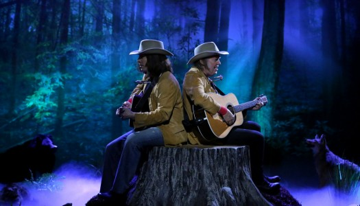 "Two Neil Youngs Perform From A Tree Stump On Fallon's ""Tonight Show"" (Watch Now)"