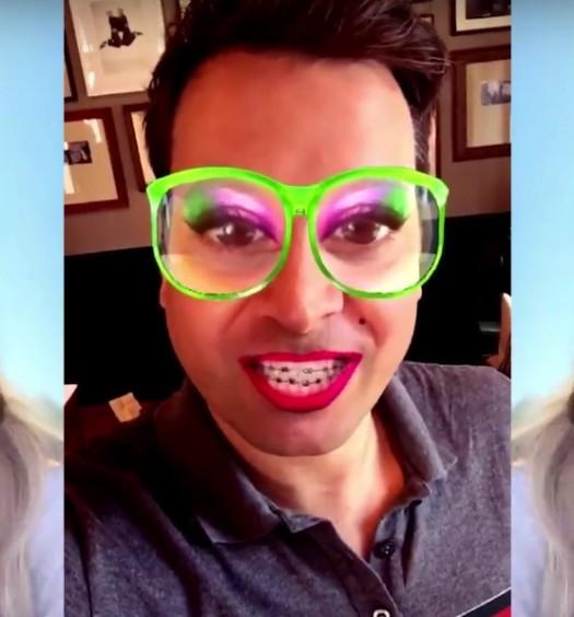Ariana Grande Fallon Snapchat [NBC]