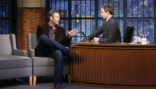 "Blake Shelton Scheduled For Interview, Performance On ""Late Night With Seth Meyers"""