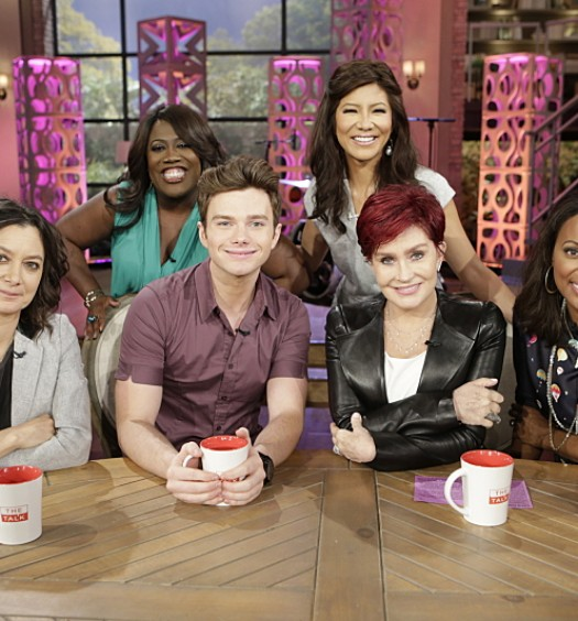 Chris Colfer [The Talk]