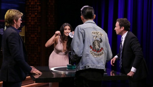 "First Look: Denis Leary, Shay Mitchell, G-Eazy Play ""Catchphrase"" On Fallon's ""Tonight Show"""