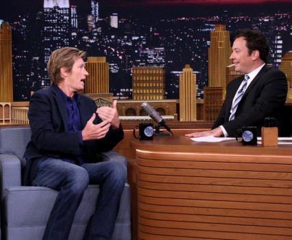 THE TONIGHT SHOW STARRING JIMMY FALLON -- Episode 0507 -- Pictured: (l-r) Actor Denis Leary during an interview with host Jimmy Fallon on July 25, 2016 -- (Photo by: Andrew Lipovsky/NBC)
