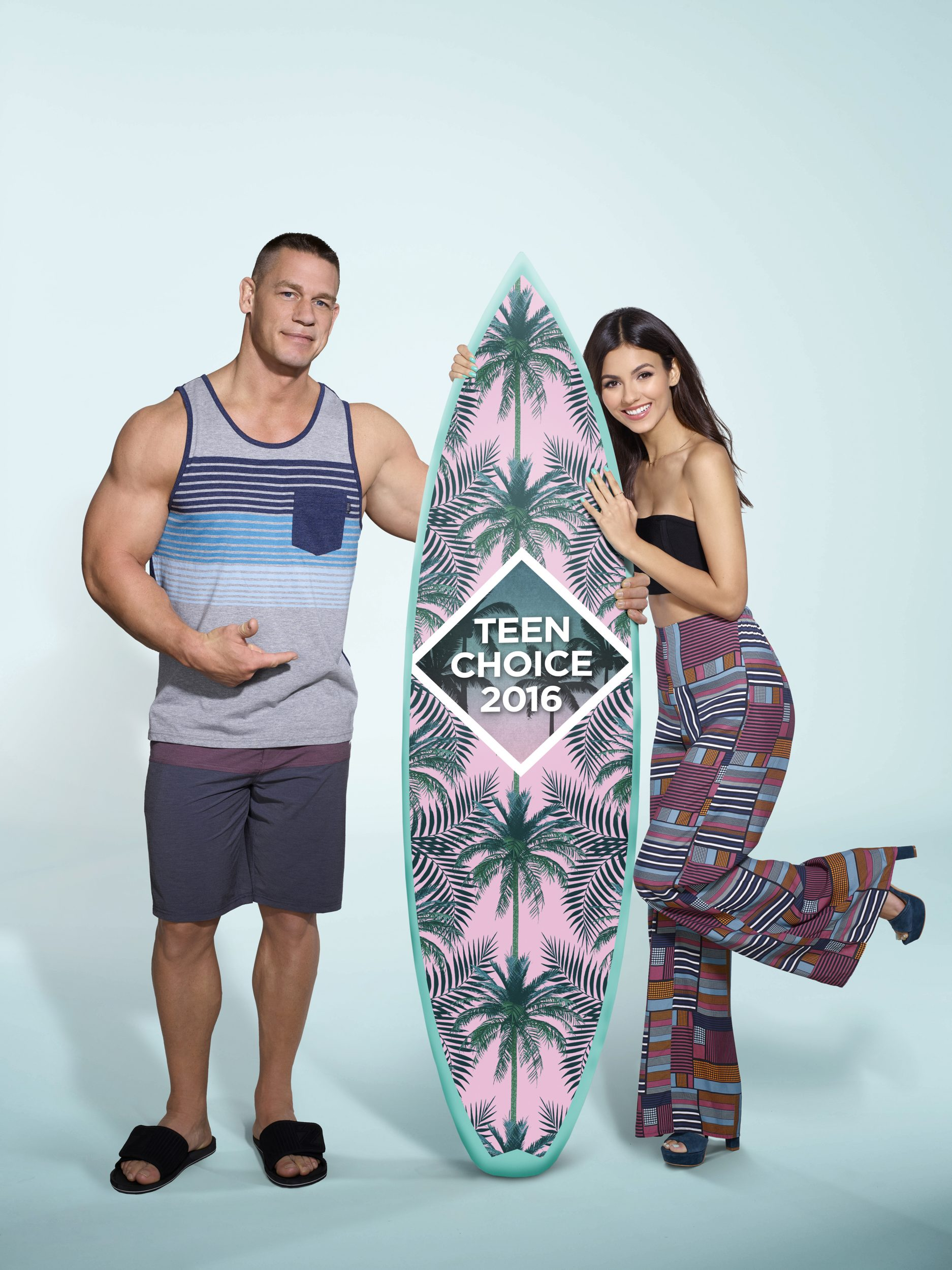 FOX Hypes Teen Choice 2016 With New Victoria Justice, John Cena Photos