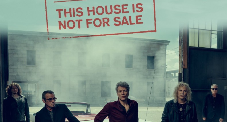 "Bon Jovi's ""This House Is Not For Sale"" Cover [Republic Records]"