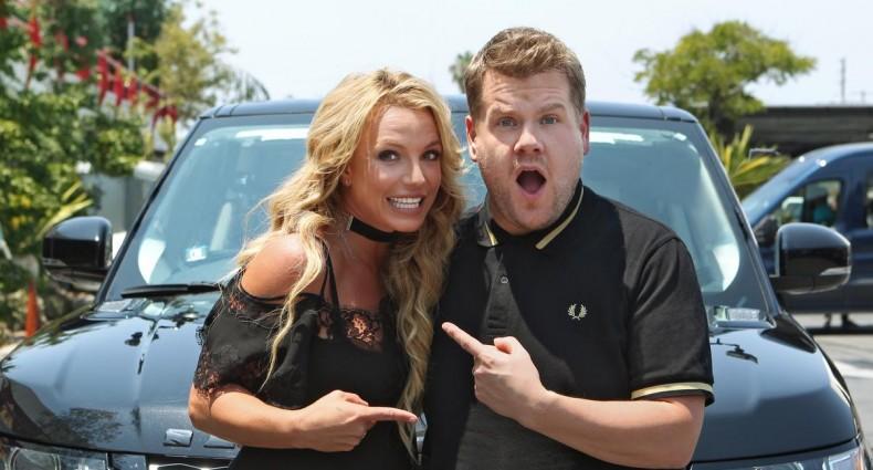 Britney Spears James Corden [CBS]