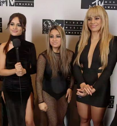 Fifth Harmony [MTV Press Interview Screen]