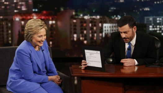 """Hillary Clinton Scheduled For August 22 """"Jimmy Kimmel Live"""""""