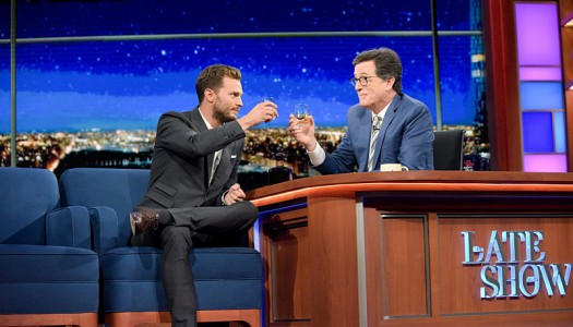 """Jamie Dornan Appears On """"The Late Show With Stephen Colbert"""" (Watch Now)"""