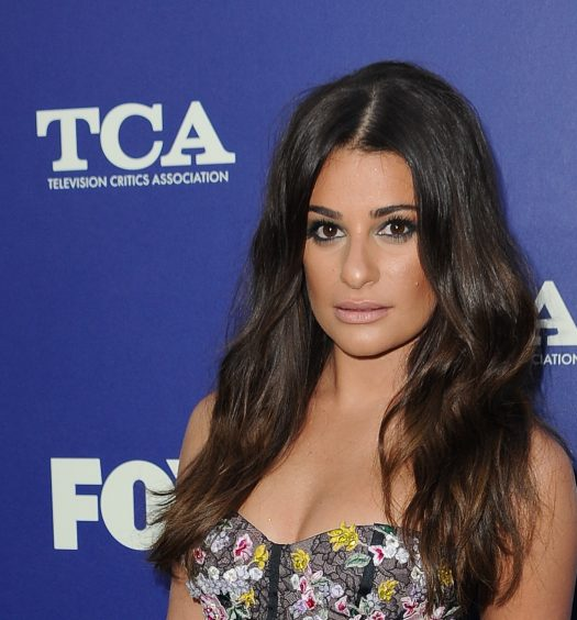 Lea Michele [Photo via FOX]