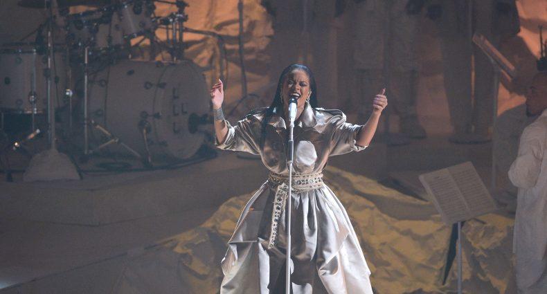 Rihanna [VMAs via MTV Press]