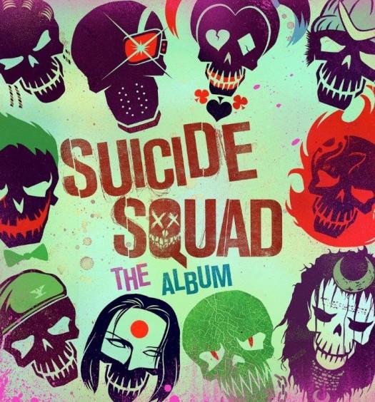 Suicide Squad Cover [Atlantic Records]