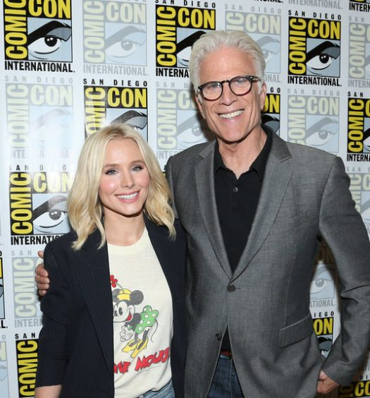 Kristen Bell Ted Danson [NBC Photo]