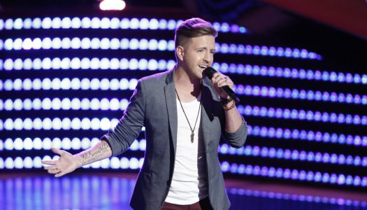 """Billy Gilman's """"When We Were Young"""" Reaches iTunes Top 20 Following Tuesday's """"The Voice"""""""