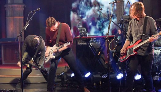 """Jimmy Eat World Performs """"Sure And Certain"""" On """"Late Show With Stephen Colbert"""" (Watch Now)"""
