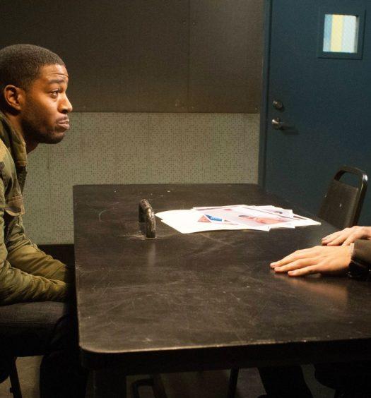Kid Cudi Andy Samberg [Brooklyn Nine-Nine | Eddy Chen for FOX]
