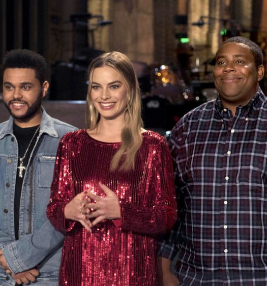 Weeknd Margot Kenan [SNL]