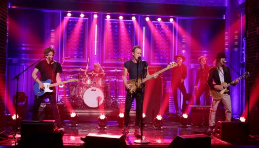 "First Look: Sting Performs On Wednesday's ""Tonight Show Starring Jimmy Fallon"""