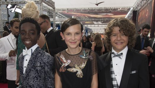 """Emmys Red Carpet: Stranger Things Kids, """"Americans"""" Star Holly Taylor Arrive At Ceremony"""