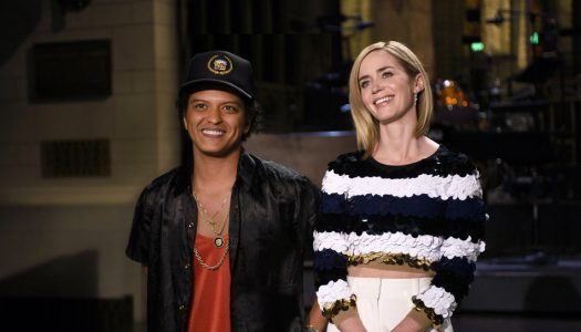"Ratings: Emily Blunt, Bruno Mars ""SNL"" Dips From Last Episode, Still Posts 8-Year High For Week Three"