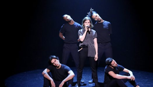 "Christine And The Queens Performs ""Tilted"" On Jimmy Fallon's ""Tonight Show"" (Watch Now)"