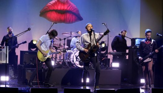 "Kings Of Leon Performed ""Waste A Moment"" On Jimmy Fallon's ""Tonight Show"" (Watch)"