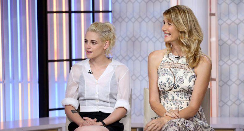 Kristen Stewart Laura Dern [NBC's TODAY Show]