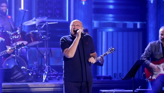 "Phil Collins Performs ""In The Air Tonight"" On Jimmy Fallon's ""Tonight Show"" (Watch Now)"