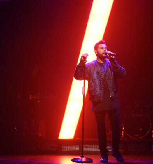 The Weeknd [Will Heath for NBC]