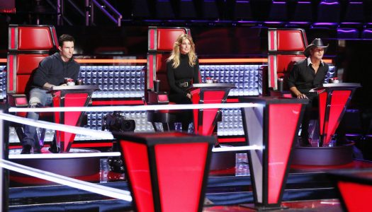 """First Look: Tim McGraw & Faith Hill Join """"The Voice"""" As Key Advisers"""