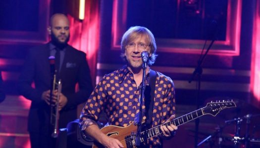 "Phish Performs ""Breath And Burning"" On Jimmy Fallon's ""Tonight Show"" (Watch Now)"